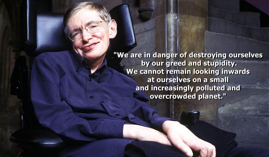 Stephen Hawking Und Der Klimawandel Umweltnetz Schweiz