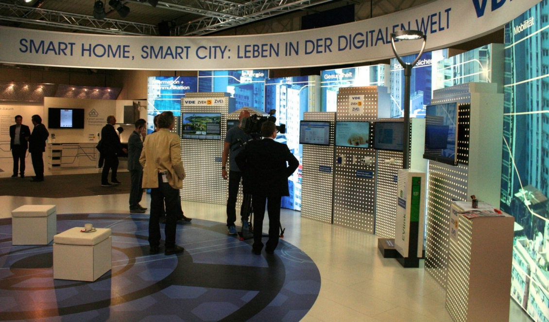 Living in the Digital World - Ausstellungsstand deutscher Ingenieure an der TechWorld 2014